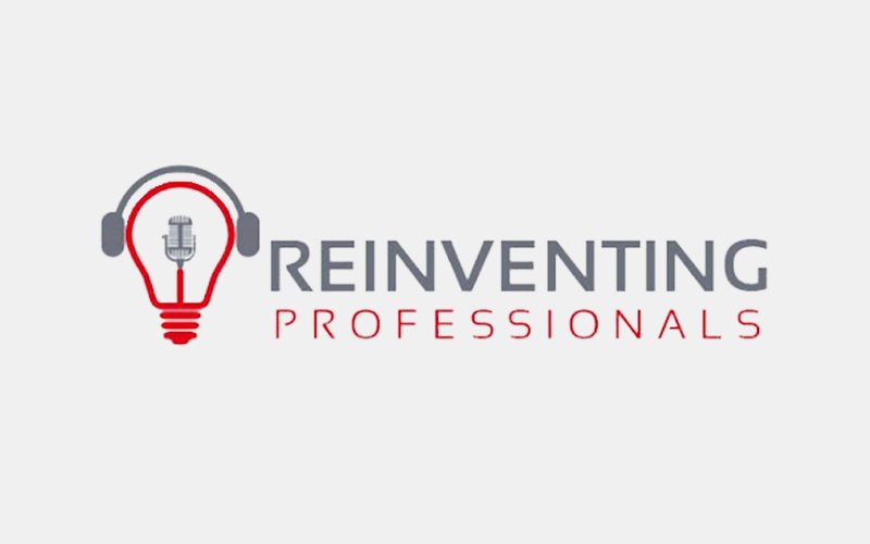Press reinventing professionals podcast